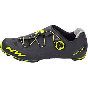 Northwave Ghost XC Shoes Men black/yellow fluo